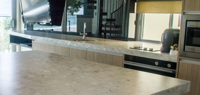 stone benchtops polishing sunshine coast