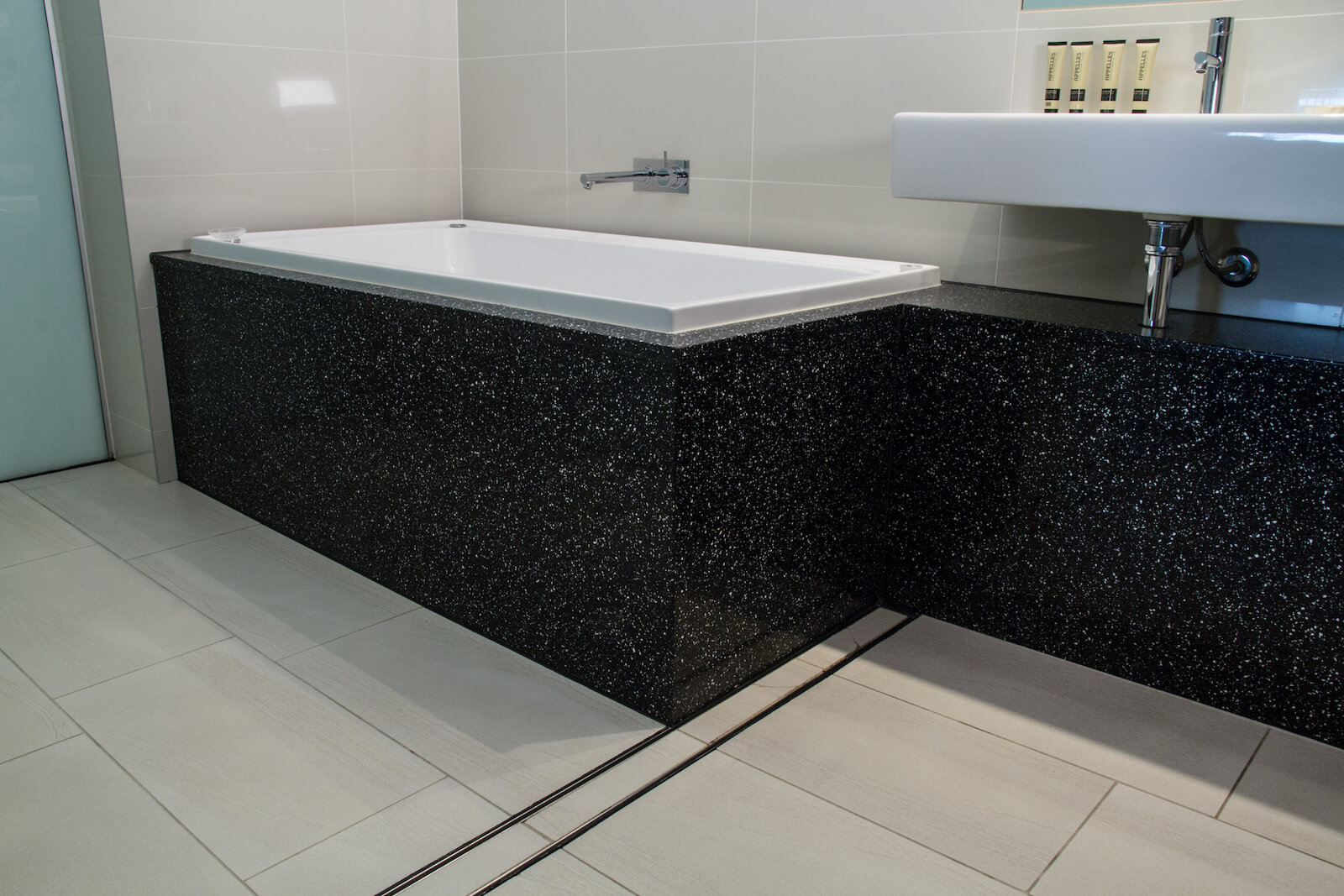 stone bathrooms repairs, polishing, sealing sunshine coast
