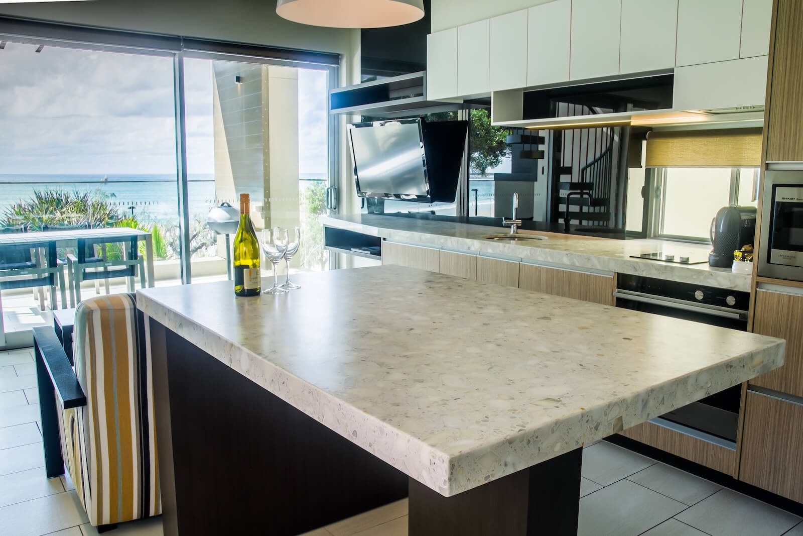 stone benchtops repairs, polishing, sealing sunshine coast